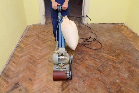 Parketvloer schuren houten vloeren schuren
